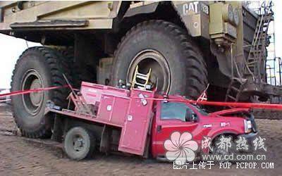 世界九大最离奇车祸图片
