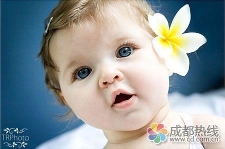 萌可爱的外国小婴儿