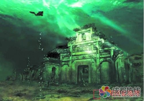 千岛湖早已闻名中外,但湖底那两座千年古城